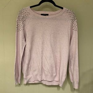 Forever 21 Sweater with Rhinestone Detail